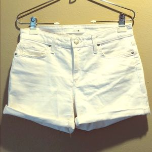 Joe's Jeans White Shorts